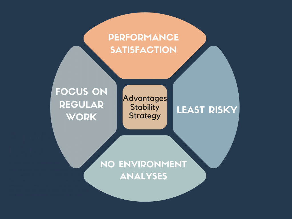 Advantages Of Stability Strategy