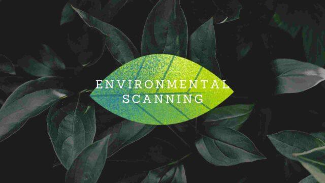 Environmental Scanning in Strategic Management