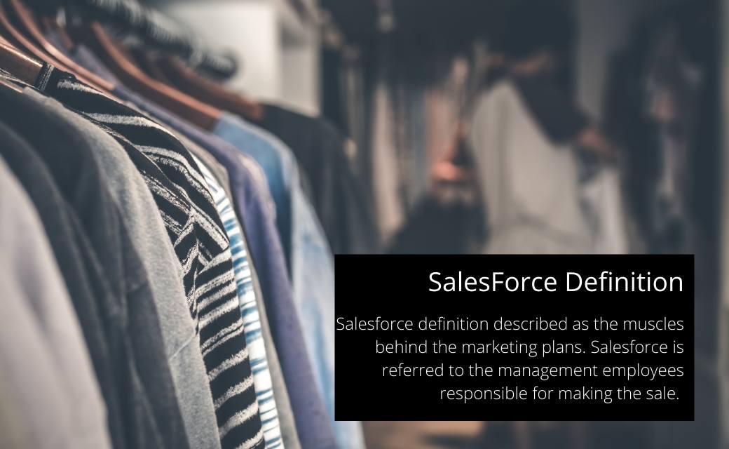 Sales Force Definition