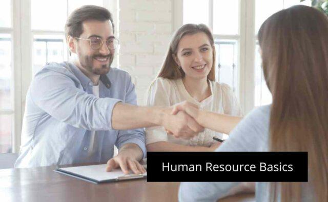 Human Resource Basics