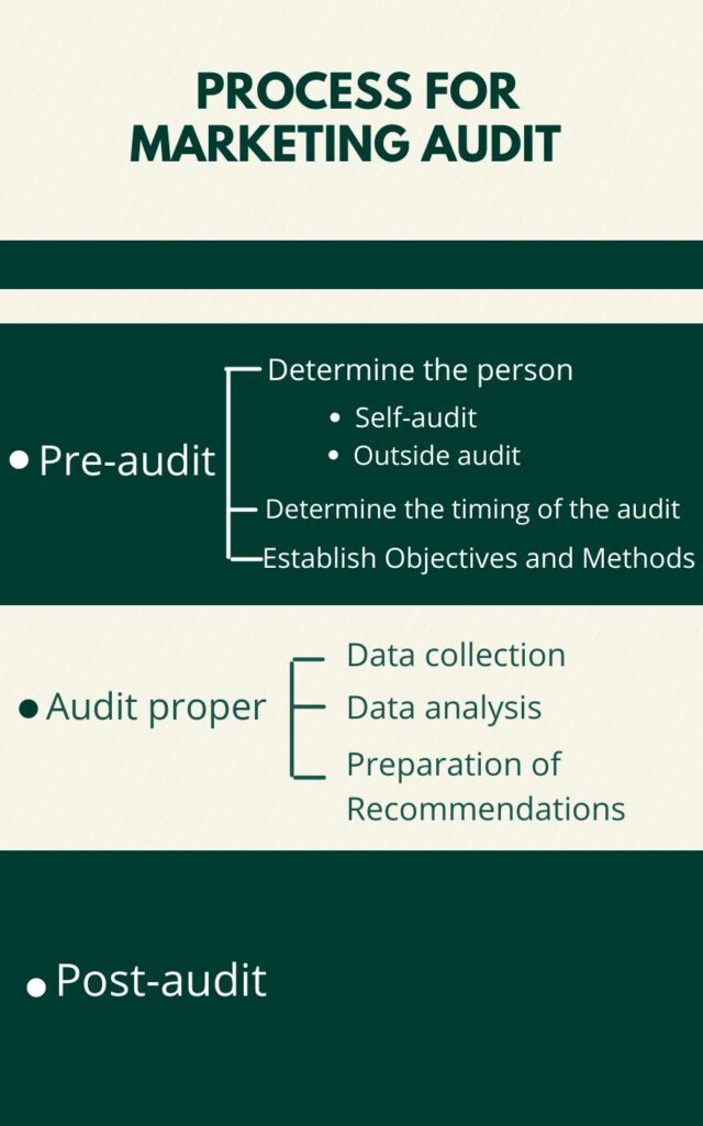 Process for Marketing Audit