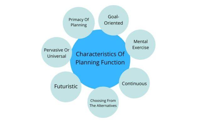 Characteristics of Planning Function