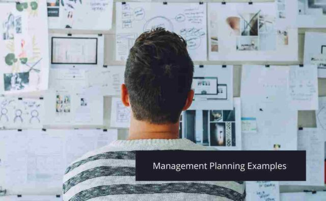 Management Planning Examples