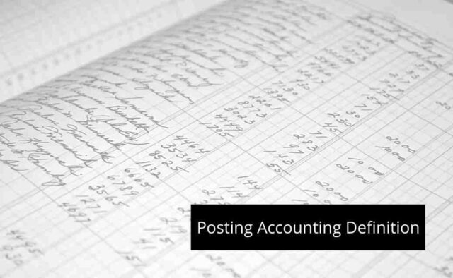 Posting Accounting Definition