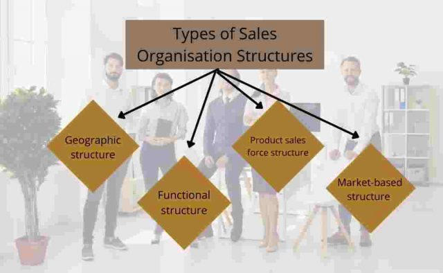Types of Sales Organisation Structures
