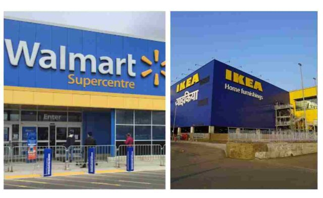 Walmart and Ikea Demand Forecast Examples